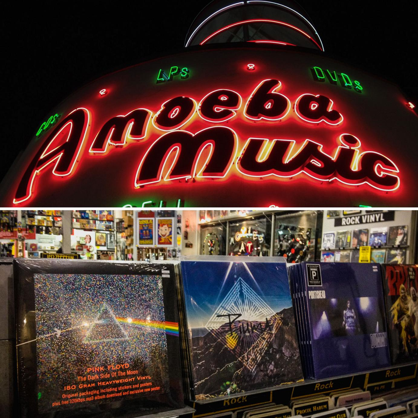 Piuma EP at Amoeba Music